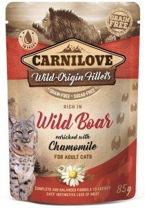 Carnilove Cat Pouch Wild Boar & Chamomile 85g