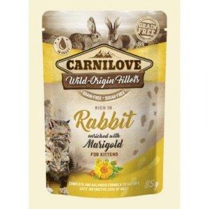 Carnilove Cat Pouch Kitten Rabbit & Marig 85g