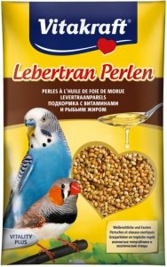 Vitakraft Lebertran Perlen dla papugi falistej z tranem 20 gram
