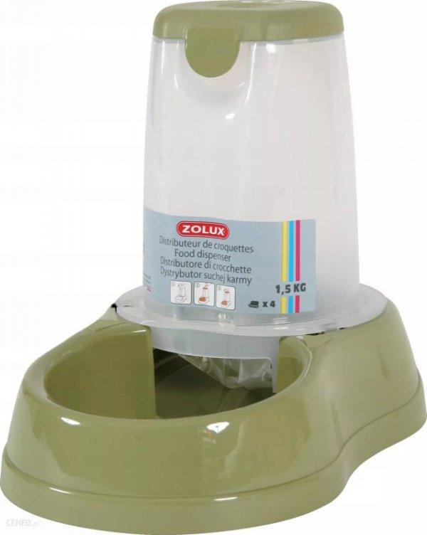 Zolux Dystrybutor do pokarm BREAK 6,5L kolor jasno zielony