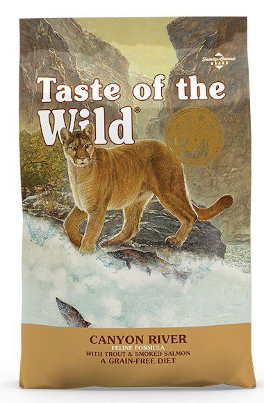 Taste of the Wild Cat Canyon River 6,6kg