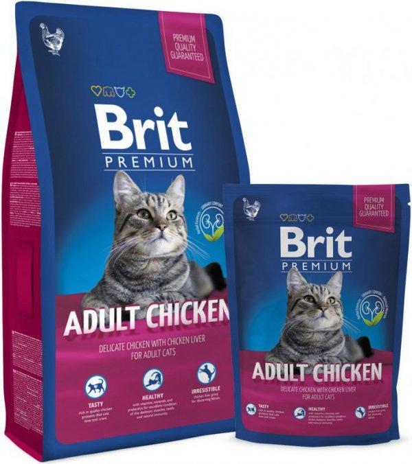 Brit Premium Cat Chicken 300g