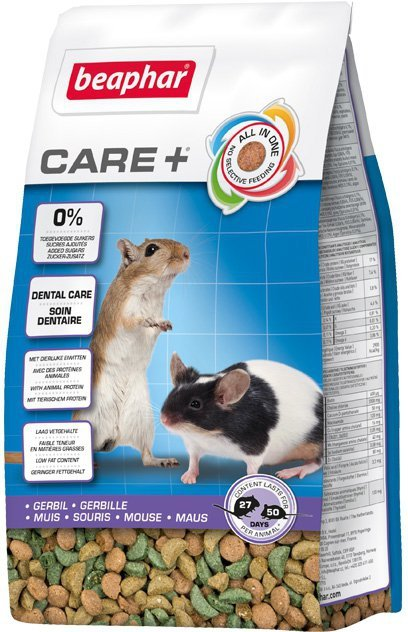 Beaphar Care+ Gerbil 250g dla myszoskoczka