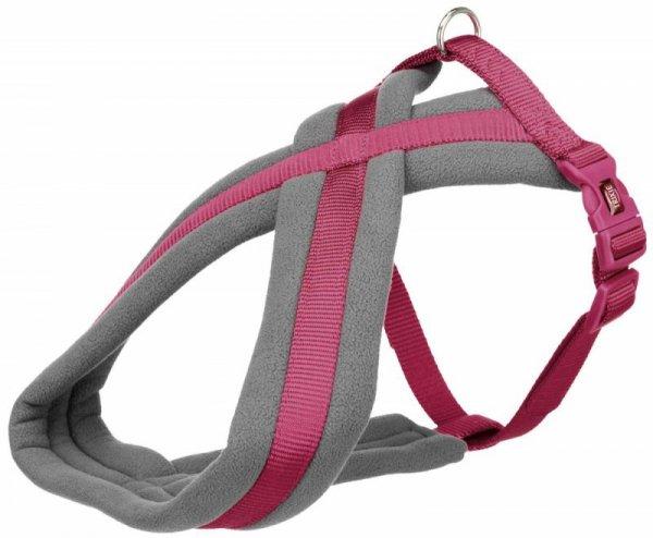 Trixie Uprząż Premium 50-80cm/25mm purpurowy
