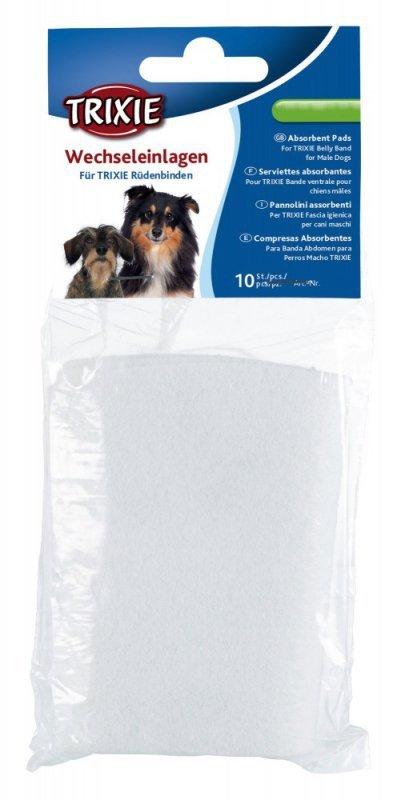 Trixie Wkładki do pasa na podbrzusze L 10szt dla psa