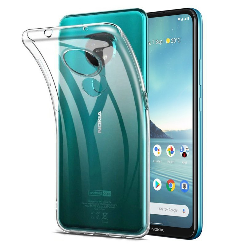 Futerał Back Case Ultra Slim 0,5mm do NOKIA 5.4