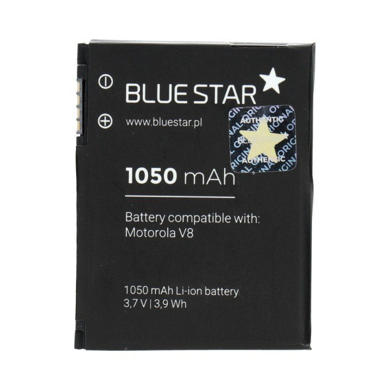 Bateria do Motorola V8/V9/U9 1050 mAh Li-Ion Blue Star PREMIUM