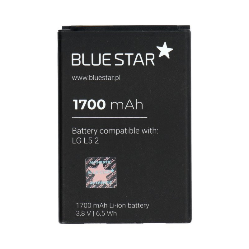 Bateria do LG L5 2 1700 mAh Li-Ion Blue Star PREMIUM