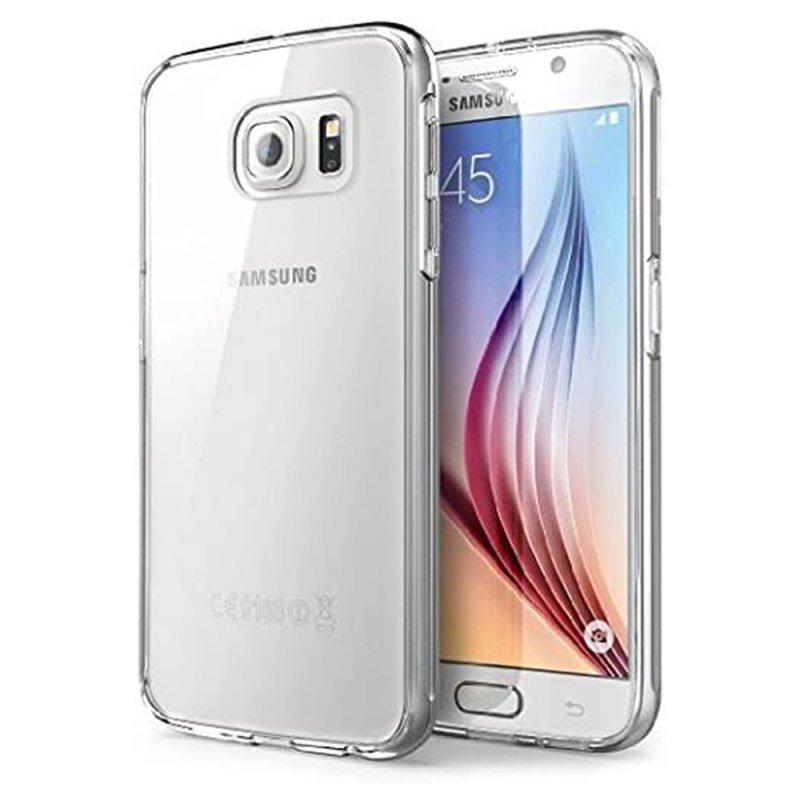 Futerał Back Case Ultra Slim 0,3mm do SAMSUNG Galaxy S6  Edge transparentny