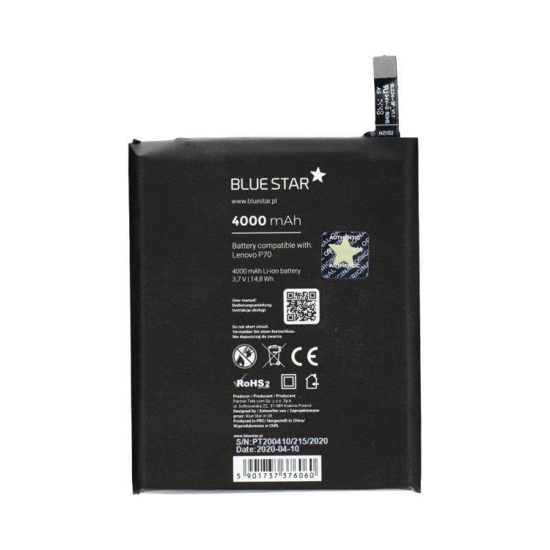 Bateria do Lenovo P70/P70t/A5000/Vibe P1m/P90 4000mAh Li-Poly Blue Star PREMIUM