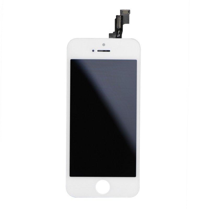 Wyświetlacz do iPhone 5S z ekranem dotykowym białym (Tianma AAA)