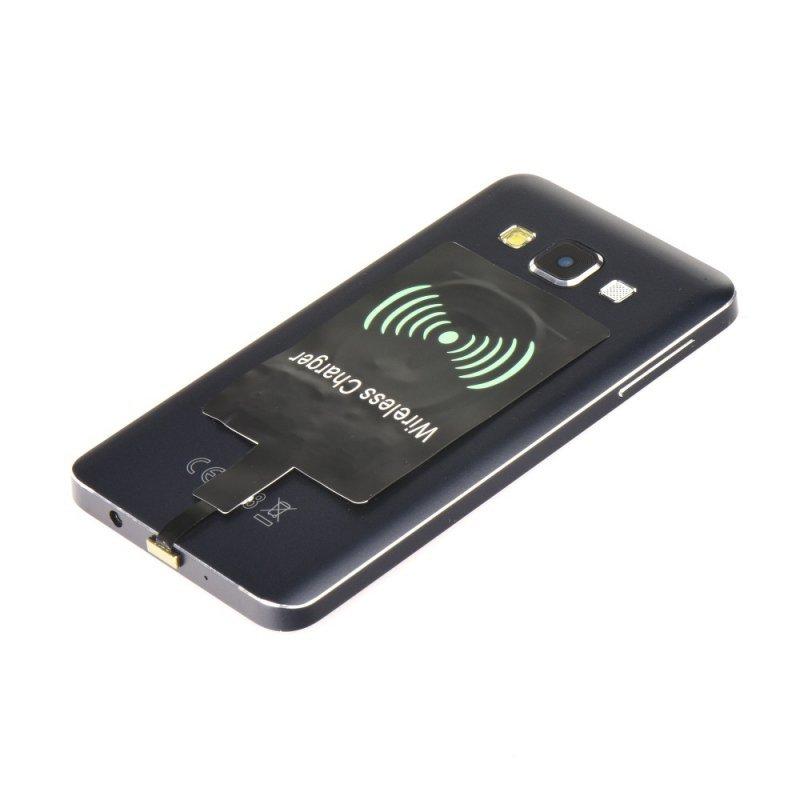 Adapter do ładowania indukcyjnego / bezprzewodowego pasuje do MicroUSB typ A