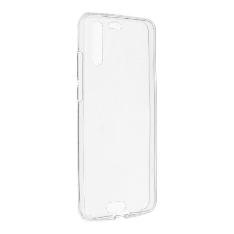 "Futerał 360"" Ultra Slim Front+Back do HUAWEI P20 transparent"