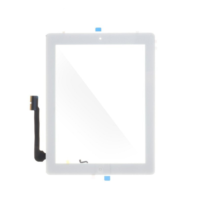 Ekran dotykowy z przyciskiem home EQ Ipad 4 biały  ( A1403, A1416, A1430 )