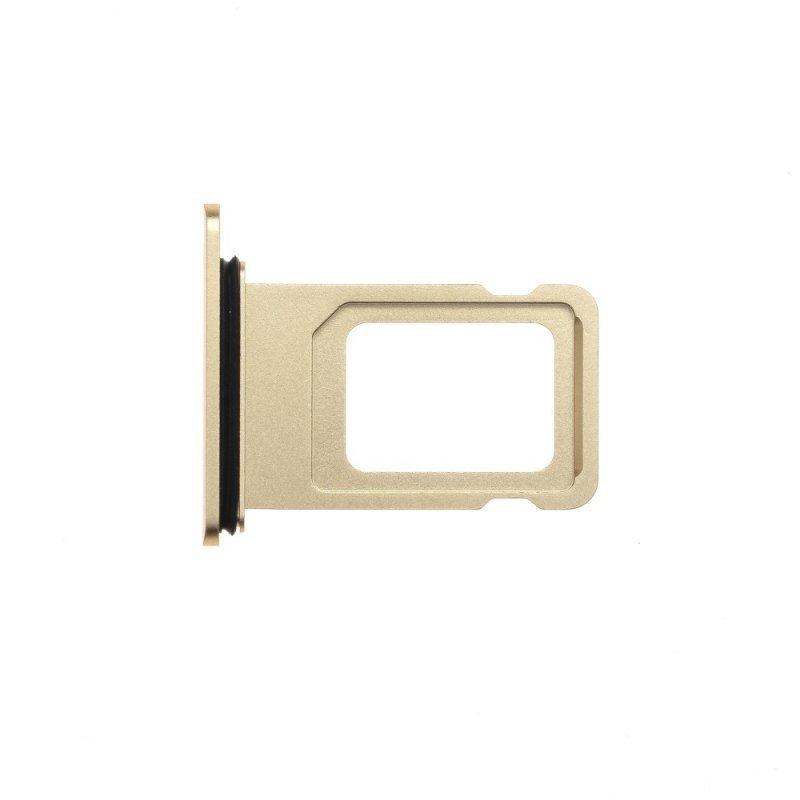 Szufladka karty SIM EQ IPHO XR złoty