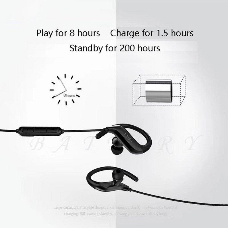 Zestaw Bluetooth Stereo UiiSii BT100 Sport Czarny