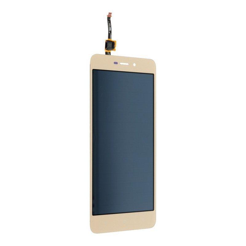 Wyświetlacz LCD bez ramki do Xiaomi Redmi 4A złoty