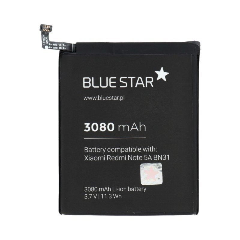 Bateria do Xiaomi Redmi Note 5A/5X (BN31) 3080 mAh Li-Ion Blue Star
