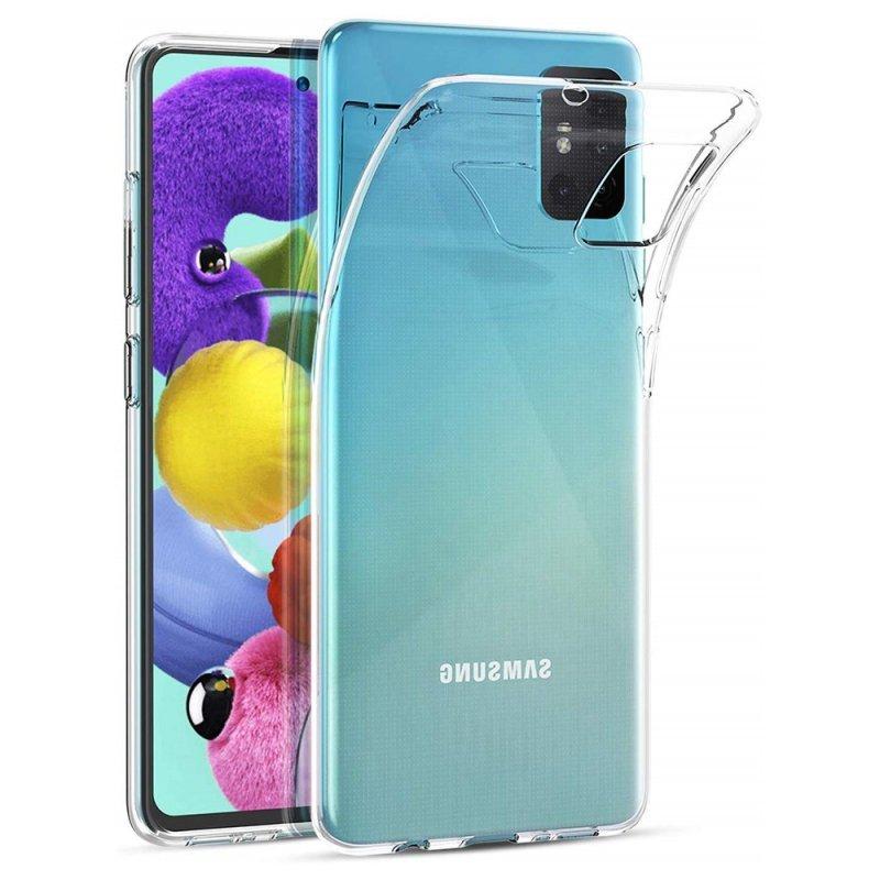 Futerał Back Case Ultra Slim 0,5mm do SAMSUNG Galaxy A51