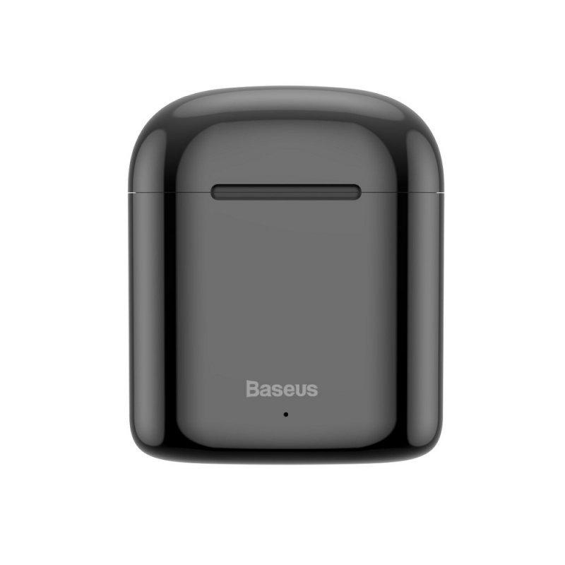 BASEUS zestaw słuchawkowy / słuchawki bluetooth TWS Encok True W09 czarne NGW09-01