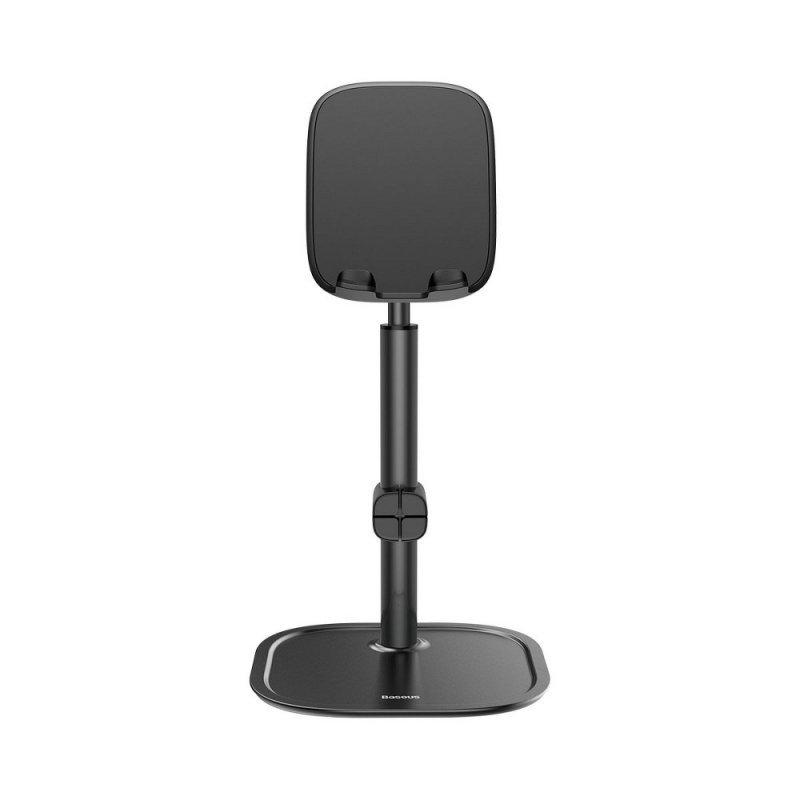 BASEUS podstawka biurkowa na telefon teleskopowa czarna SUWY-A01