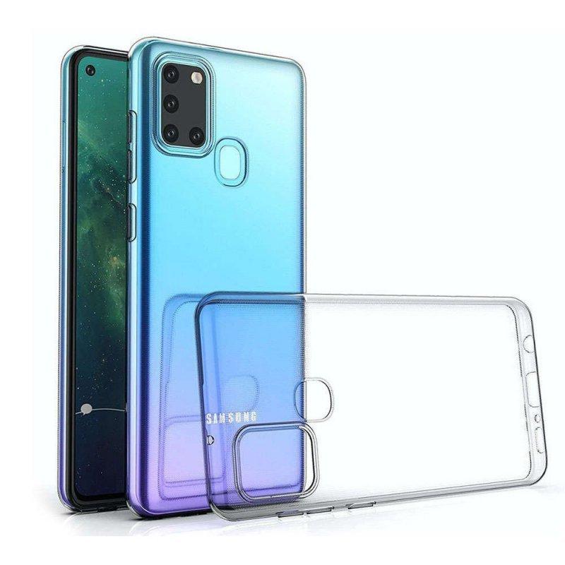 Futerał Back Case Ultra Slim 0,5mm do SAMSUNG Galaxy A21S