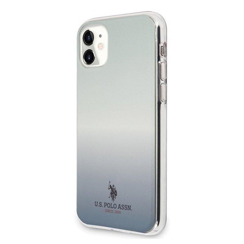 Oryginalne Etui US POLO Hardcase USHCN61TRDGLB do iPhone 11 niebieski