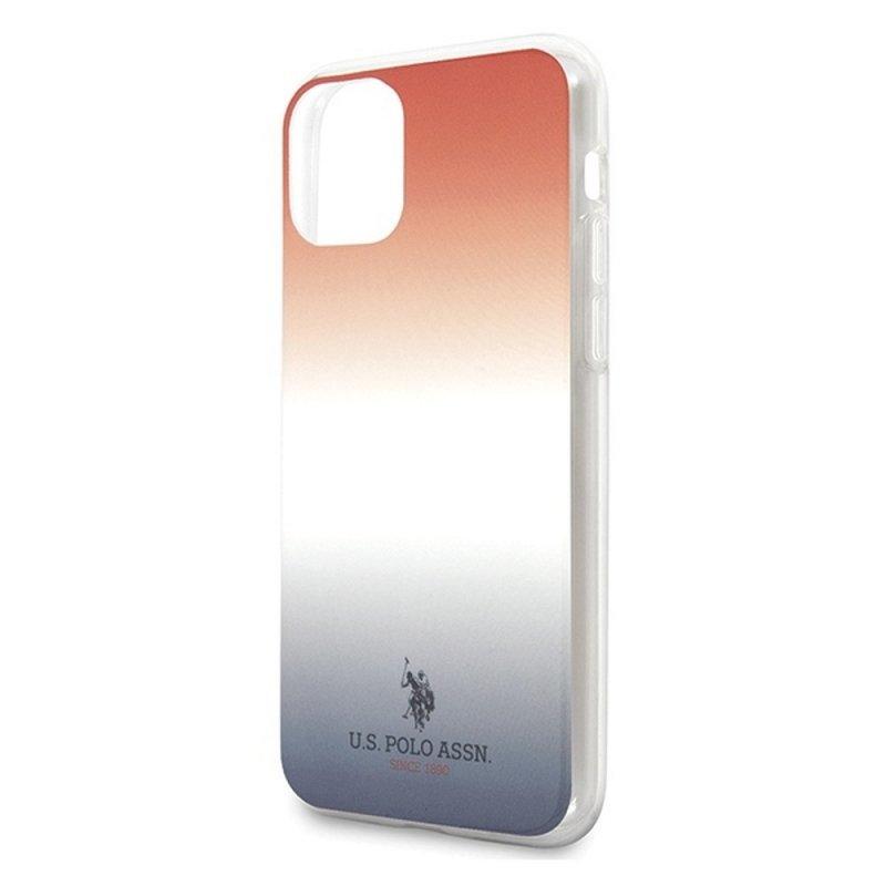 Oryginalne Etui US POLO Hardcase USHCN61TRDGRB do iPhone 11 czerwono-niebieski