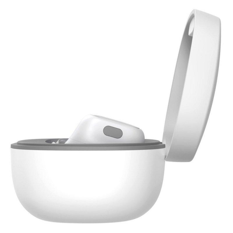 BASEUS zestaw słuchawkowy / słuchawki bluetooth TWS Encok True WM01 biały NGWM01-02