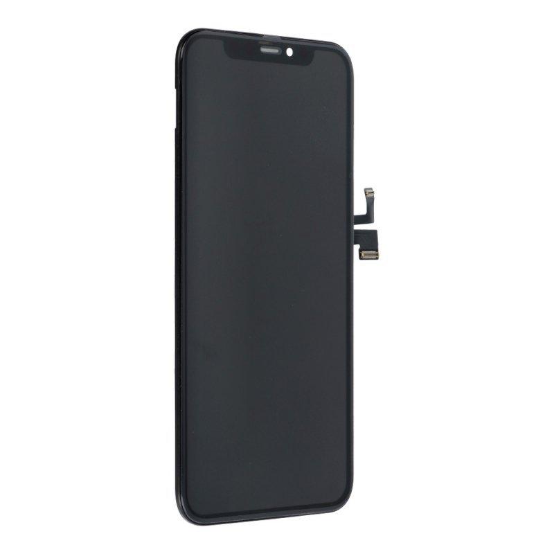 Wyświetlacz do iPhone 11 Pro z ekranem dotykowym czarnym HQ soft OLED GX!!