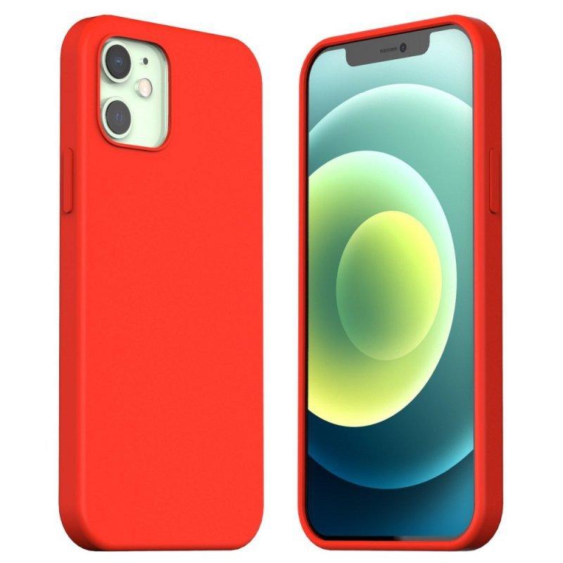 Futerał ARAREE Typoskin do IPHONE 12 MINI czerwony
