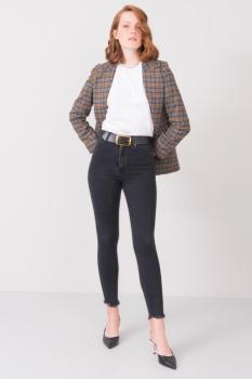 Spodnie jeans-15823-czarny