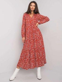 Sukienka-D73771M30225A-ciemny czerwony