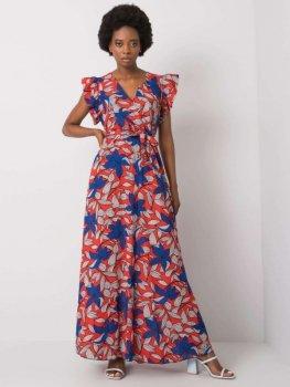 Sukienka-DHJ-SK-13570.40P-czerwony