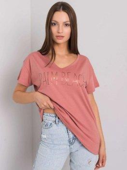 T-shirt-FA-TS-7198.27P-ciemny różowy