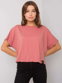 T-shirt-TK-FF-TS-717374.85P-ciemny różowy