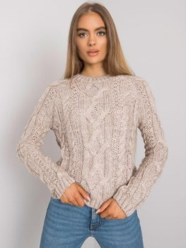 Sweter-TO-SW-0410.70-beżowy