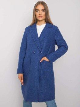 Płaszcz-TW-PL-BI-5187.23P-niebieski