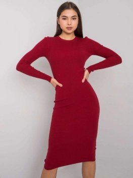 Sukienka-TW-SK-BI-ZS9004.85-bordowy