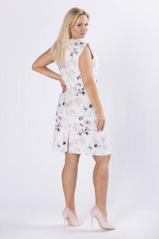 sukienka z printem