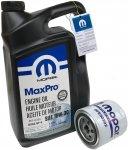 Filtr + olej 10W30 MOPAR Eagle Vision