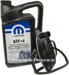 Olej MOPAR ATF+4 oraz filtr automatycznej skrzyni biegów NAG1 Jeep Grand Cherokee 2005-
