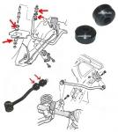 Tuleja / guma łącznika stabilizatora Jeep