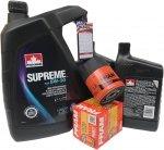 Filtr oleju oraz olej SUPREME 5W30 Hummer H3 L5