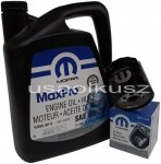 Olej MOPAR 5W20 oraz filtr oleju silnika Jeep Compass
