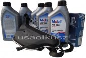 Filtr oraz olej skrzyni biegów Mobil ATF320 Buick Lucerne