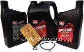 Olej SUPREME 10W40 oraz filtr Chrysler Grand Voyager 2,5 CRD 2001