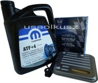 Olej MOPAR ATF+4 oraz filtr automatycznej skrzyni 4SPD Dodge Stratus