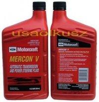 Olej automatycznej skrzyni biegów Motorcraft MERCON V 1l Lincoln Mercury