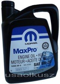 Olej silnikowy 5W20 MOPAR GF-5 MS-6395 5L
